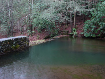 CCC dam and pond