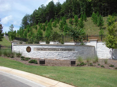 Georgia National Cemetery entrance