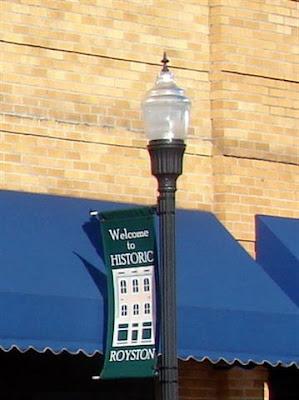 Historic downtown Royston