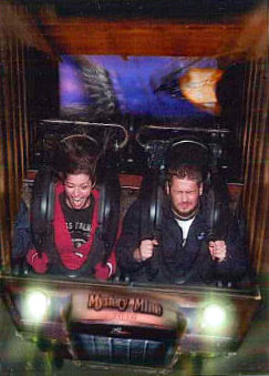 fun with Carrie - Mystery Mine, Dollywood