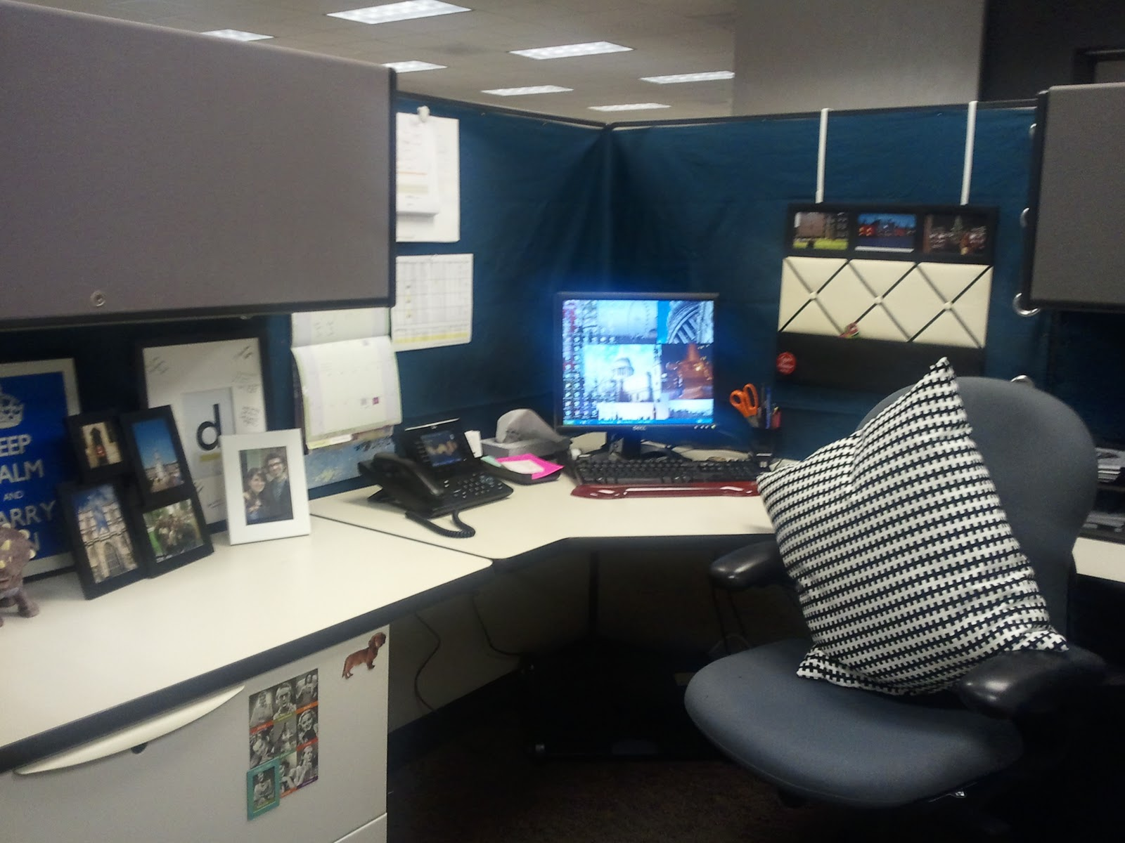 Cardigan Junkie Diy Cubicle Makeover
