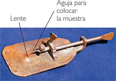 Las lentes de Leeuwenhoek Microscopio_leeuwenhoek