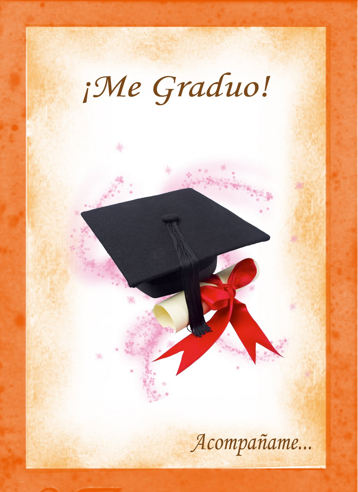 Tarjetas De Invitaciones Para Graduacion