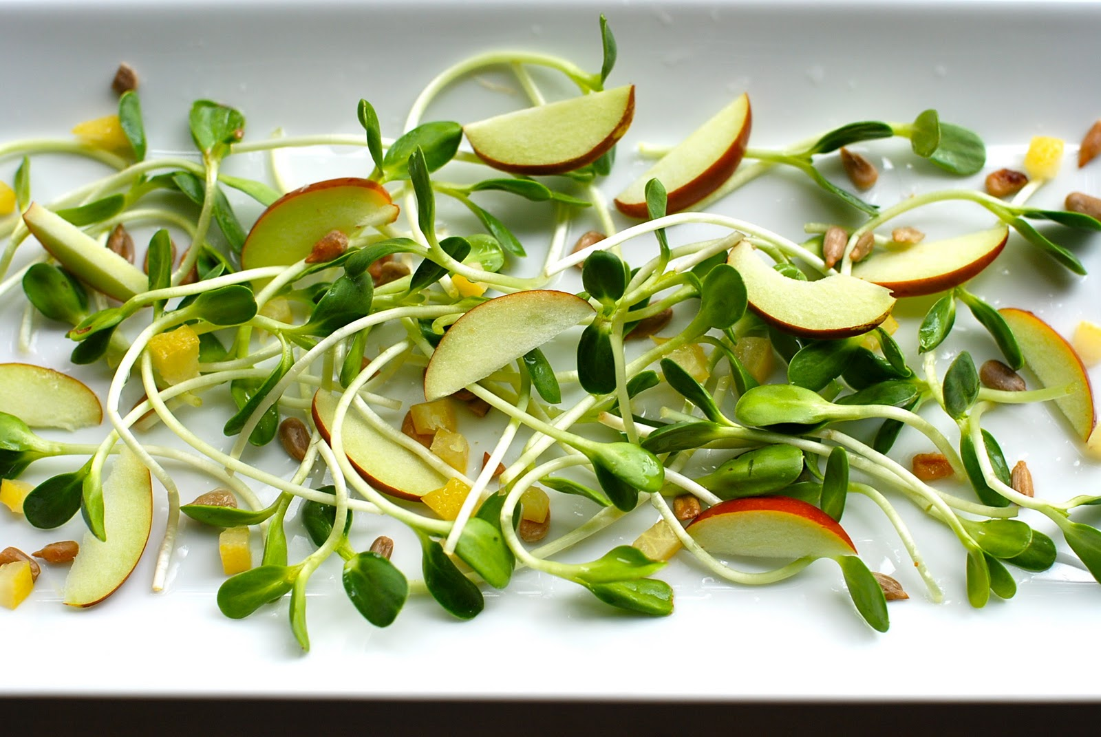 The Enchanted Cook: Sunflower Sprout Salad with Preserved Lemons and ...