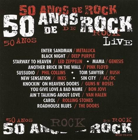 50 Anos de Rock Live - 2009