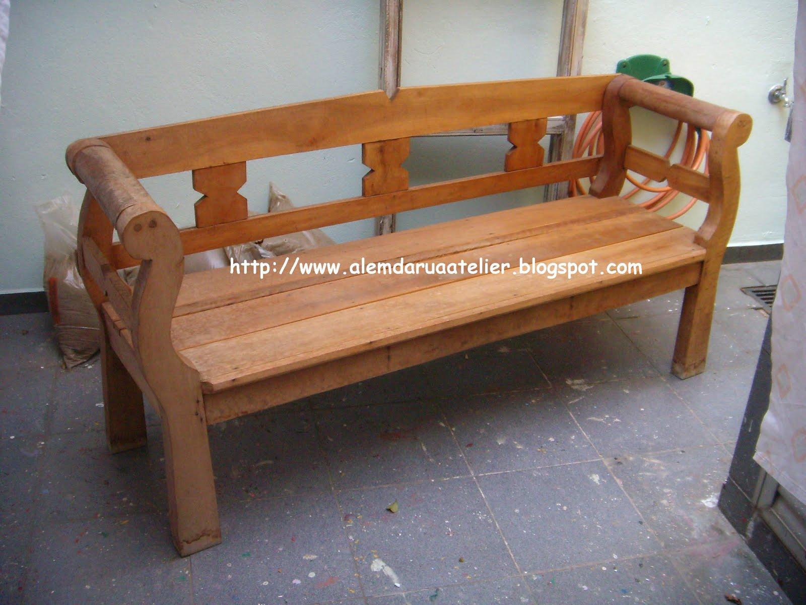 Pátina em banco e trio de mesas de madeira – Antes e depois  #976134 1600x1200
