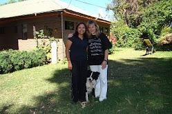 Junto a Marcela Díaz, gran Educadora Canina. CHILE