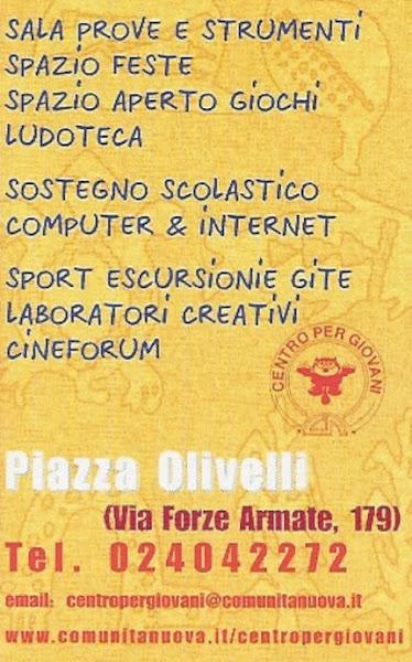 Centro per Giovani di Don Gino RIGOLDI a Milano..