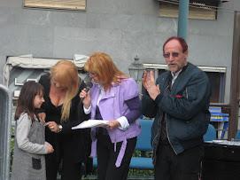 ultimissime del 7 aprile 2009.. Premiazione del 5 / 4 / 2009