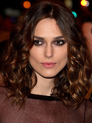 ... and as I scour the net I see this awesome new hair from Keira Knightley.