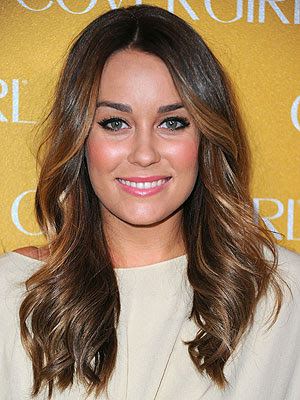 lauren conrad new hair color. Lauren Conrad#39;s New Brunette