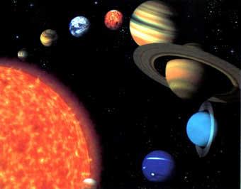 Todos estos planetas conforman el SISTEMA SOLAR