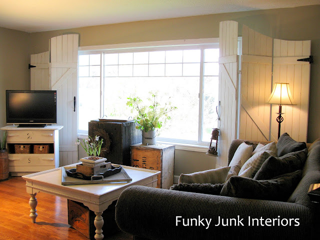 Parade of Homes Full Home Tour via Funky Junk Interiors