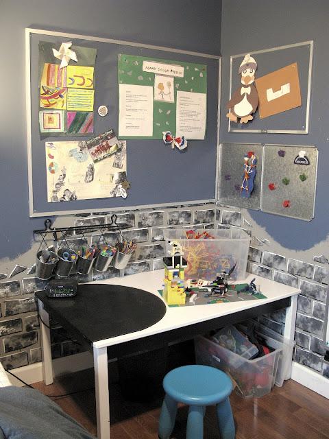 with - Brick Kids Room Decor