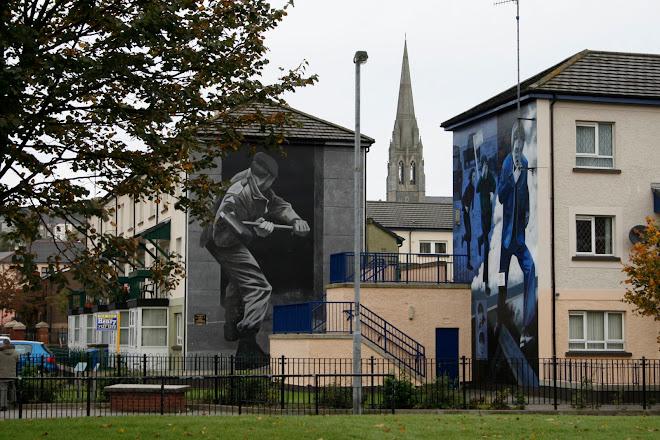 Muros y murales de Irlanda del Norte
