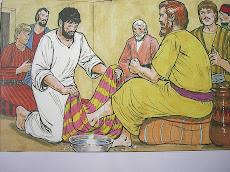 พระเยซูทรงเป็นแบบอย่างของผู้รับใช้