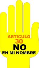 El artículo 30 viola los derechos de las Mujeres