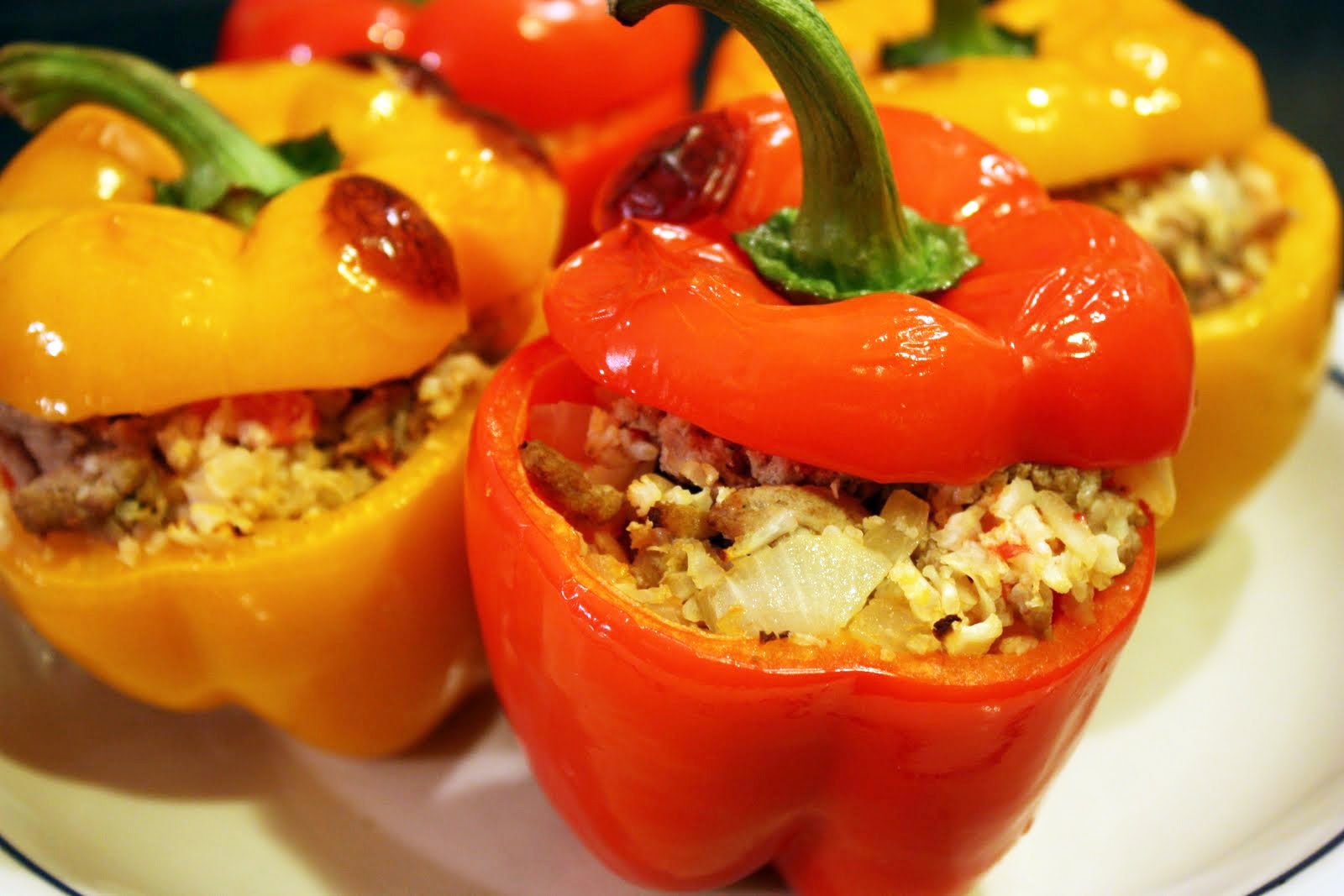 Spicy Stuffed Peppers - Primal Palate | Paleo Recipes