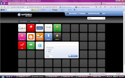 Screen shot of P L N using Symbaloo