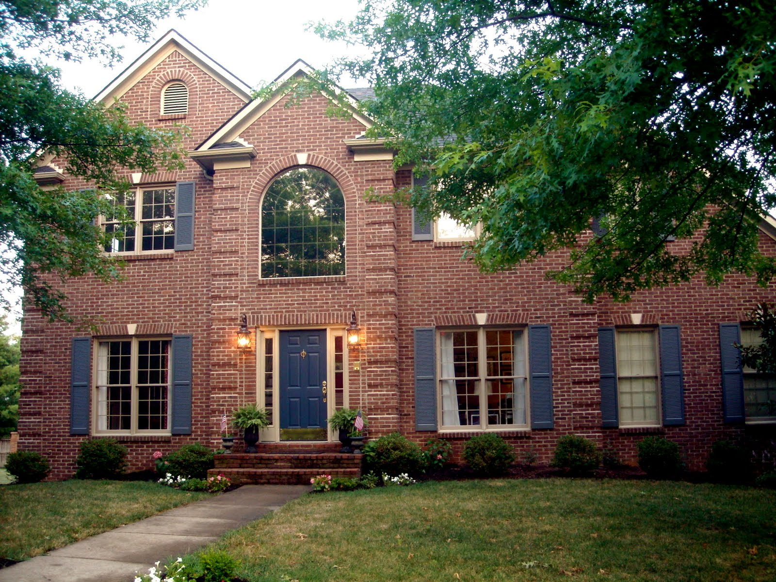 Exterior Color Combinations For Brick Houses Exterior House Color - Brick home exterior color schemes