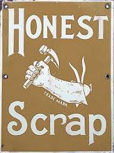 Honest Scrap Award!