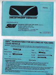 Warranty Card / Kad Jaminan Akan Diberikan bagi setiap pembelian