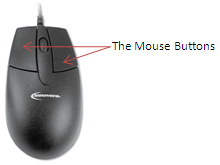 Two-button Mechanical Mouse