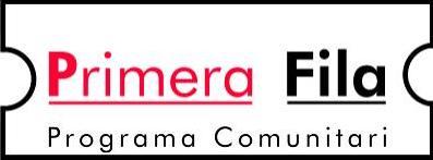PRIMERA FILA PROGRAMA COMUNITARI