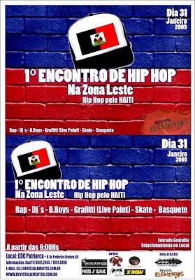 Encontro de Hip-Hop Pelo Haiti - 31/01