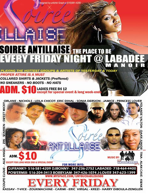 Soiree ANtillaise, @ Labadee Manoir - Every Firday