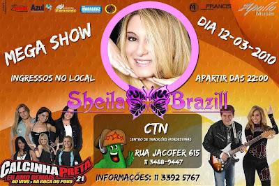 Mega Show com Calinha Preta e Banda Calypso