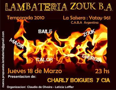 Lambateria Zouk - Buenos Aires