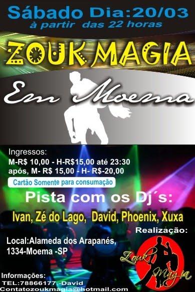 Zouk Magia - Moema
