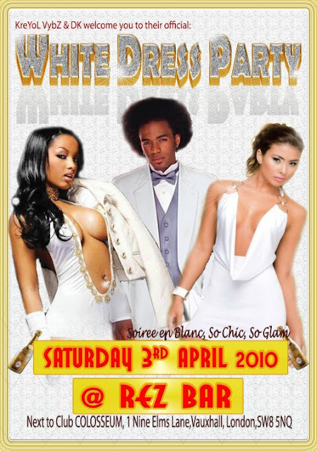 Kreyol Vybz White Dress Party