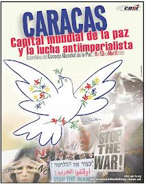 Caracas Capital Mundial de la Paz y la lucha antiimperialista