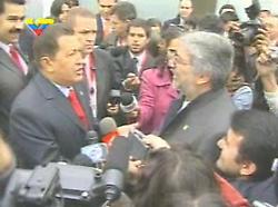 ENCUENTRO CHAVEZ Y LUGO