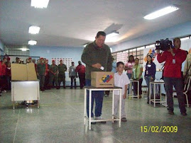 VOTACION DEL CDTE HUGO CHAVEZ