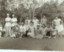 Futebolistas travestidos anos 60