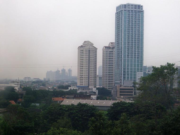 kawasan gatot subroto  jakarta,april 2009