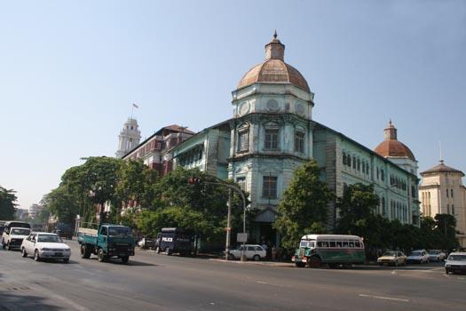 kota yangon myanmar