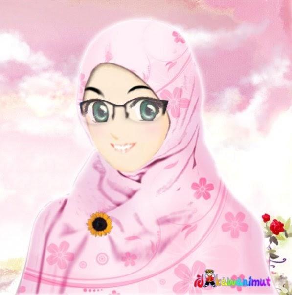 Download Gambar Wallpaper Kartun Religi Islami Wanita