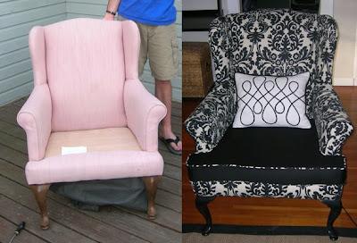 Diy Wingback Chair Slipcover