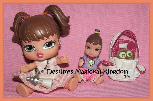 Bratz Baby Meygan & Barbie Doctor Baby From 1980s