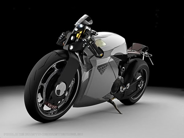 Innovative Electrical Motorcycle from Paolo De Giusti 2