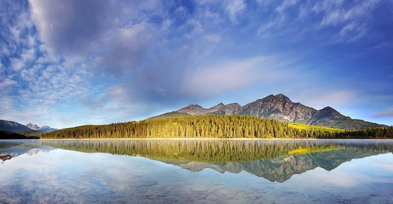 Alberta, Canada - Patricia Lake Morning