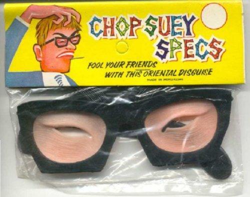 Chop Suey Specs - Oriental Disguise
