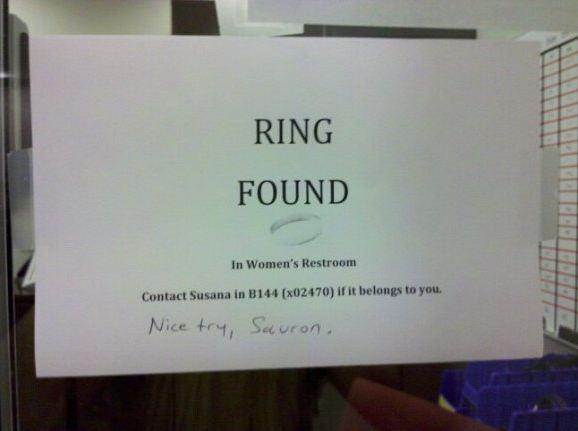Nice Try Sauron