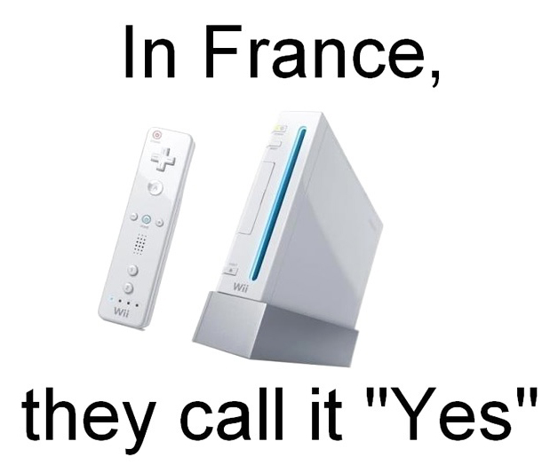 Nintendo Wii, In France - They Call It Yes