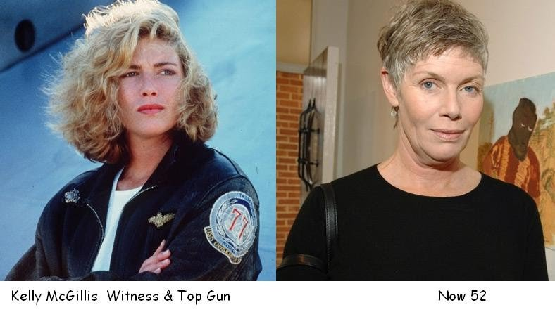 Kelly McGillis, Then And Now