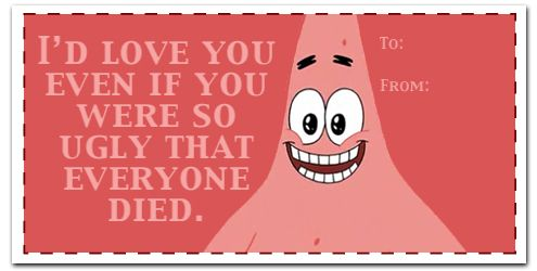 The Most Creative Card-Messages Ever By Patrick Star